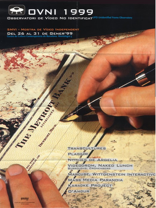 Arxius de l'Observatori : OVNI 1999