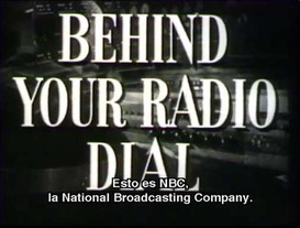 Behind you Radio Dial