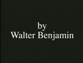 The Artwork in the Age of Its Mechanical Reproducibility by Walter Benjamin as told to Keith Sanborn by Jayne Austen © 1936